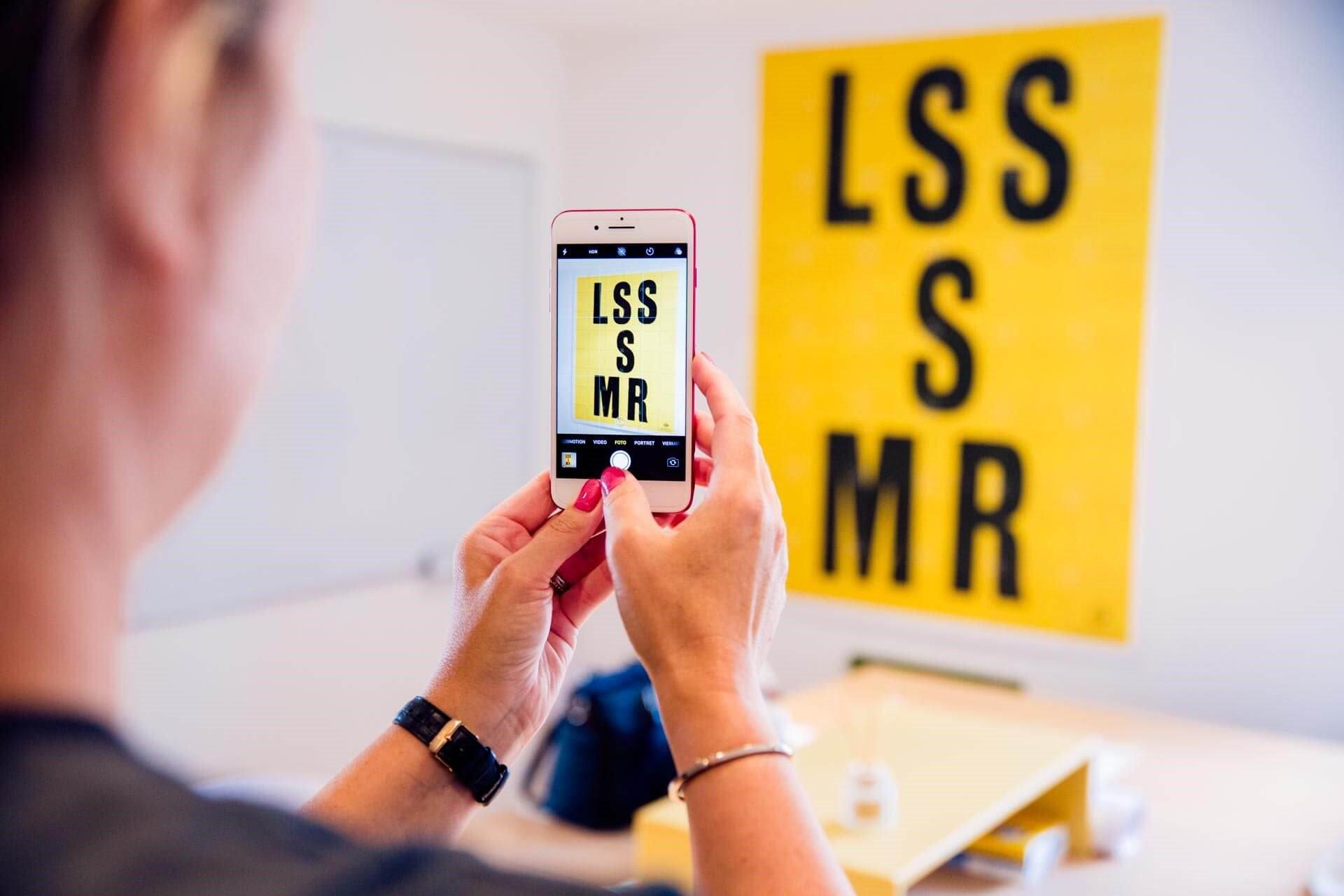 Goede fotos met een mobiele telefoon, helpen ook op je linkedIn profiel